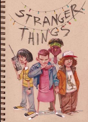 Stranger Things Andrea Díaz